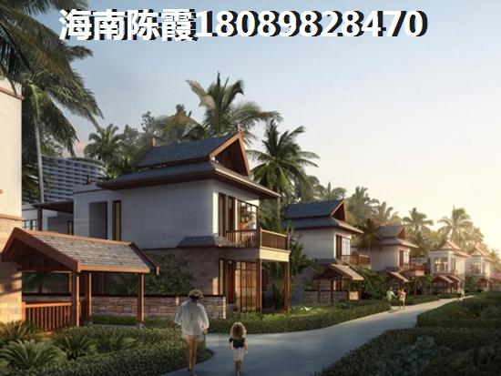 中国海南海花岛实景鸟瞰
